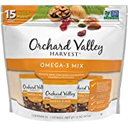 Orchard Valley Harvest No Artificial Ingredients Omega-3 Mix 15 Ounce