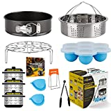 Insta-Pot-Accessories-Set, Instapot Accessory Compatible with Instant Pot 6 Qt 8 Quart, with Steamer...