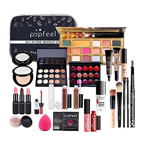 Kit de maquillaje todo en uno,kit de cosméticos profesional