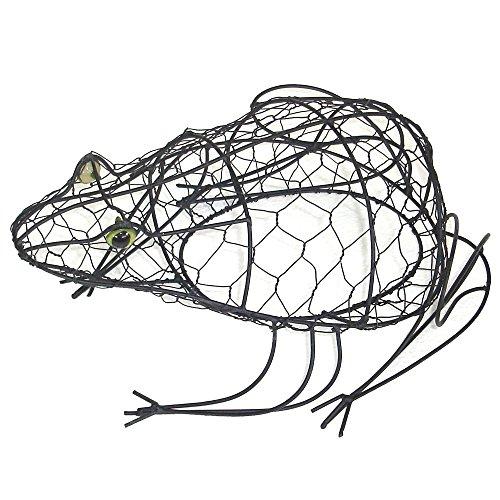 Buxus-Figur Frosch Drahtgestell Buchsbaum-Former 33 cm