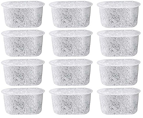 Everyday DCCF-12 Replacement Charcoal Water Filters for Cuisinart Coffee Makers, 12-Pack