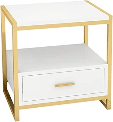Amazon.com: Lifewit Small Nightstand Bedside Table End Table with ...