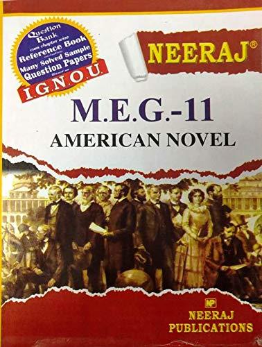 Ignou MEG 11 American Novel For MA