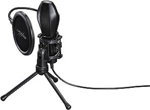 Hama uRage Mic xStr3am Evolution Alámbrico Negro - Micrófono (38 dB, 50-16000 Hz, 2200 Ω, Alámbrico, 2 m, 1 Pieza(s))