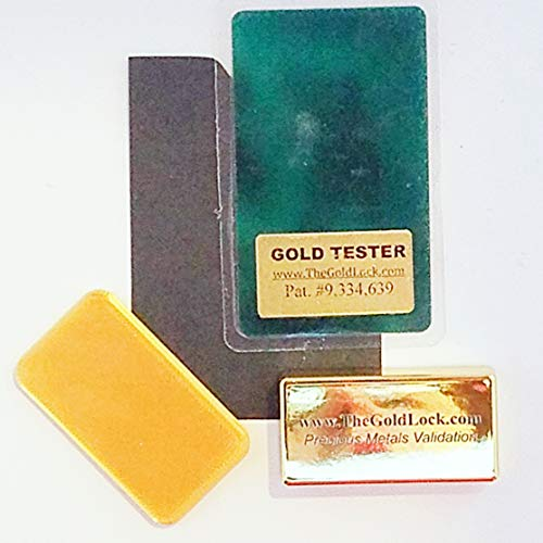 Gold Tester - Credit Card Size - Fits in Your Wallet - Easy to use