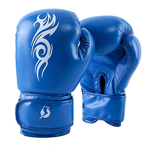 Boxing Gloves for Men and Women, Pro PU MMA Punch Bag Boxing Mitts for Muay Thai Kickboxing Sparring Fighting & Training (8oz,10oz,12oz,14oz)