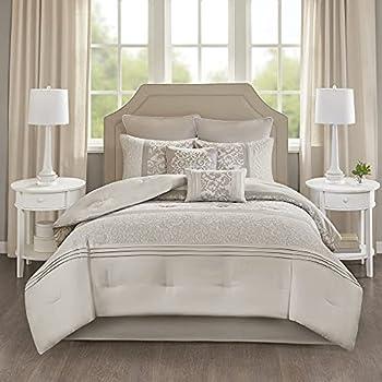 Best neutral comforter sets queen Reviews