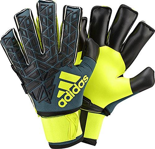 adidas Torwarthandschuhe ACE Ultimate, Tech Green/Black/Solar Yellow, 7