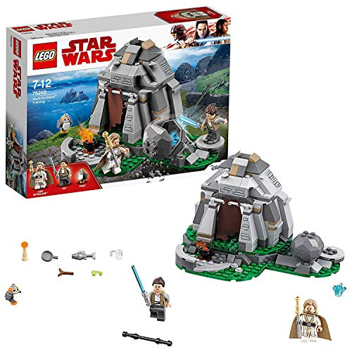 LEGO Star Wars- Ahch-To Island Training Episode VIII Lego Juego de Construcción, Multicolor, única (75200)