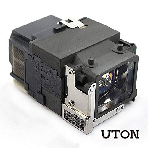 Uton ELPLP65 / V13H010L65 Replacement Lamp for Epson EB-1775W EB-1751 EB-1776W / PowerLite 1771W 1761W 1776W 1760W 1750 1770W 1775W 1751 Projector