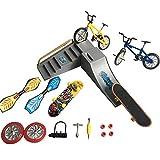XHXseller Mini monopatines de dedo y bicicletas de simulación, juguetes de dedos, mini monopatines deportivos de dedo, tablas de columpio, para fiestas, juguete educativo