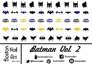 Batman Vol 2 - Waterslide Nail Decals - 50pc