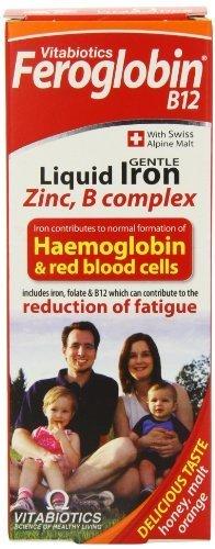Feroglobin Vitabiotics -B12 Iron Supplement Liquid