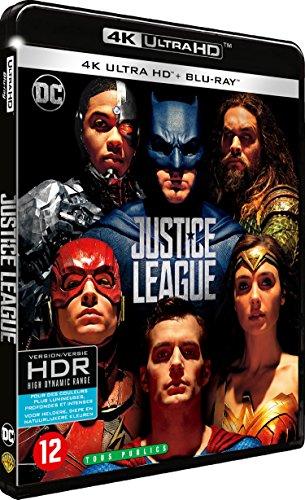 Justice League - Blu-ray 4K - DC COMICS [4K Ultra HD + Blu-ray]
