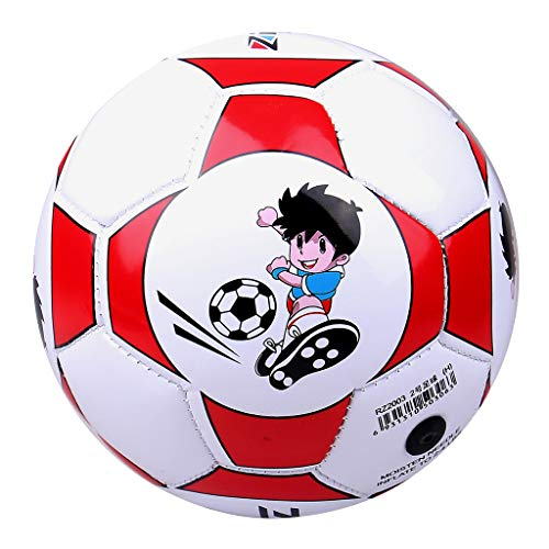 LoveinDIY Soccer Ball Football Size 2 Training Team Game...