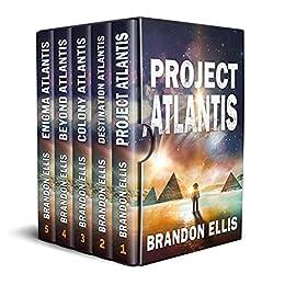 The Complete Atlantis Series, Books 1 - 5 (A Sci-Fi Fantasy Technothriller): Ascendant Saga by [Brandon Ellis]