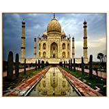WACYDSD Puzzle 3D Puzzle 1000 Piezas Paisaje Taj Mahal Fotos DIY Nodula