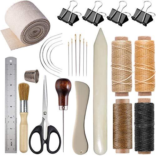 Home Useful Hand Leather Craft Bone Folder Edger Creaser Shaping Scoring Tool