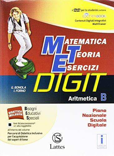 Matematica teoria esercizi digit. Aritmetica B. Mi preparo-Quaderno competenze e operativo. Per la Scuola media. Con DVD-ROM. Con e-book. Con espansione online (Vol. 2)