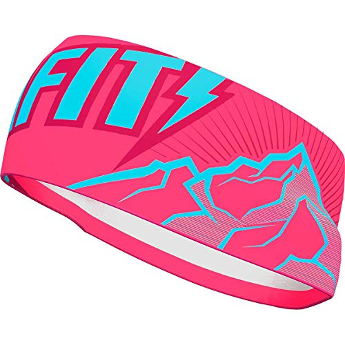 DYNAFIT Graphic Performance Stirnband, Fluo pink-6432, ONE Size