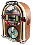 BasicXL Retro Jukebox with AM/FM Radio and CD-Player