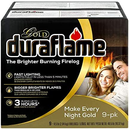 Duraflame Gold 4 5lb 3 hr Firelog 9 Pack Packaging May Vary product image