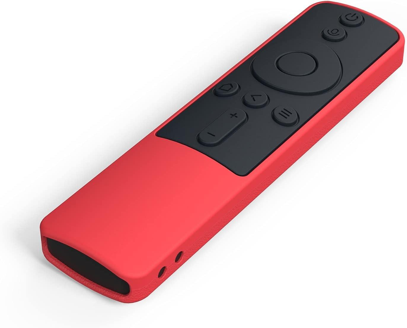 WDFGSA Cubierta de Control Remoto Cubierta de Control Remoto para Xiaomi MI 4A 4C 4X SIKAI TV VOICT Case Remoto (Color : Red Black)