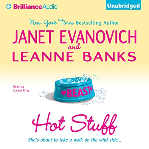 Hot Stuff                   By:                                                                                                                                 Janet Evanovich,                                                                                        Leanne Banks                               Narrated by:                                                                                                                                 Lorelei King                      Length: 4 hrs and 7 mins     432 ratings     Overall 4.1
