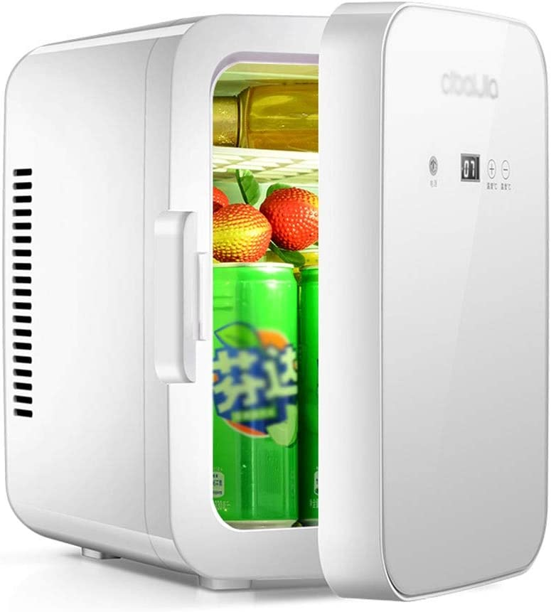 Portable Car Fridge White 1 year warranty With free shipping And Refrigerato Cooler car Warmer