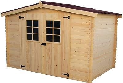 HOMCOM Gabinete Caseta Herramientas Jardin 165x140x75 cm ...