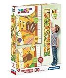 Clementoni Medidor Pzas Bugs'house Puzzles Metro 30 Piezas Maxi The Bugs´House, Niños, mulricolor, One sizeca