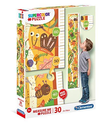 Medidor Pzas Bugs'house Puzzles Metro 30 Piezas Maxi The Bugs´House, Niños, mulricolor, One sizeca