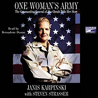 One Woman's Army audiobook cover art