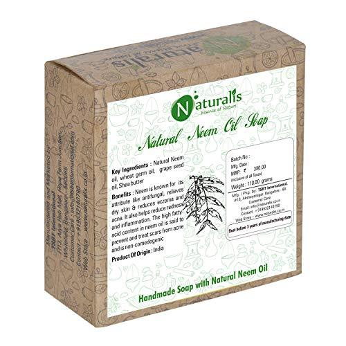Naturalis Essence of Nature Antibacterial and Antifungal Handmade Soap with Natural Neem Oil