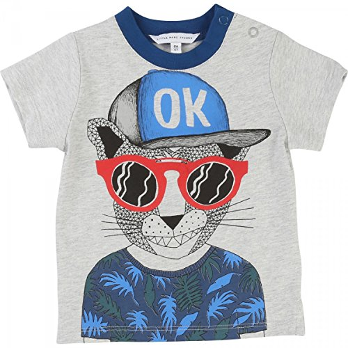 Little Marc Jacobs - T-Shirt Gris - 3 Ans, Gris Clair
