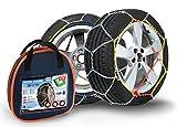 Compass Catene da neve per pneu 185/65 R15, 9x17mm, Omologate TUV (070), 1 paio