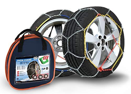 Compass Chaînes à Neige pour pneus 175/80 R13 Certifié TÜV (x60) 1 Paire