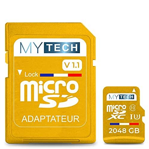 MyTech - Tarjeta de memoria Micro SD 2048 GB (2 TB) - V1.1