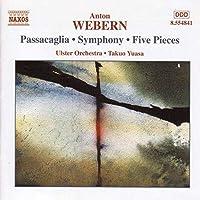 Passacaglia Op. 1/Movts for Str (5) Op. 5/&