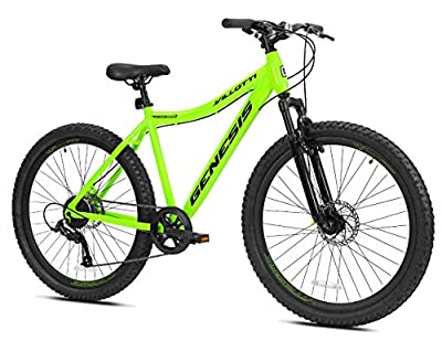 "Genesis 27.5"" Villotti Men's Bike, Green"