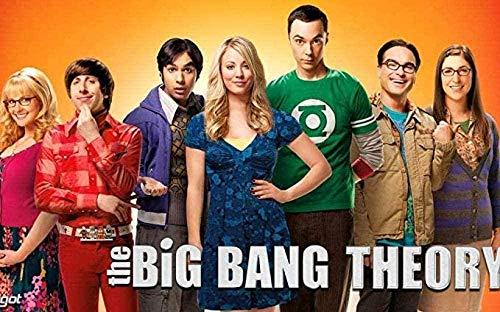 The Big Bang Theory Puzzle 1000 Piezas Rompecabezas de Madera Juguetes para Adultos Kid Challenge Juego Educativo