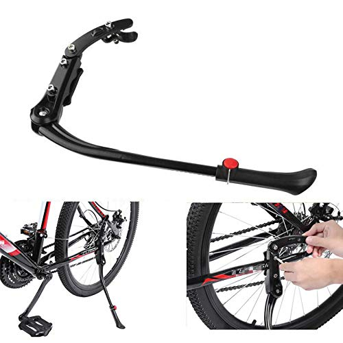 Generies Ajustable MTB Road Bicycle Kickstand Parking Rack Support Side Kick Stand Foot Brace Cycling Parts 45-52Cm Bike Holder