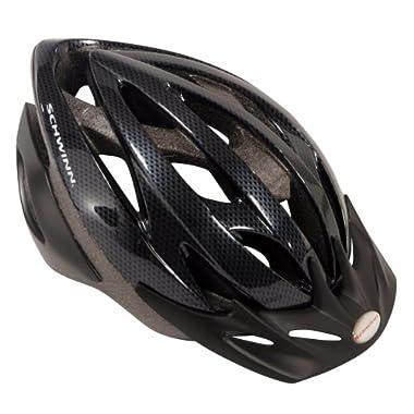 Schwinn Thrasher Adult Micro Bicycle black/grey Helmet (Adult)