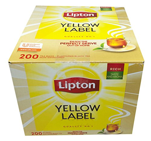 200 Teebeutel Lipton Yellow Label Tea Quality No. 1 (2 x 100)
