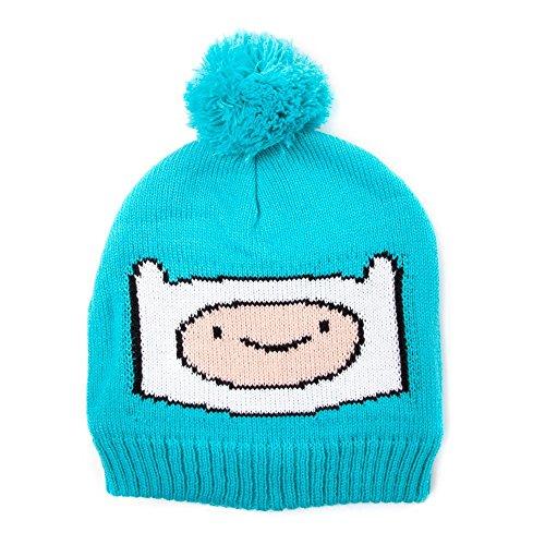Adventure Time Finn Bonnet (Bleu)