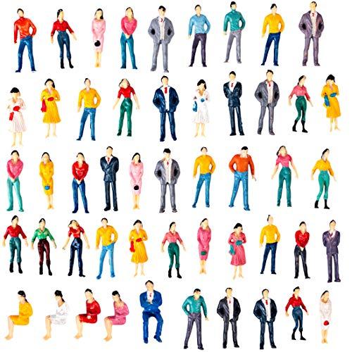Polai 50 Piezas 1:50 Escala Personas Maqueta Personas