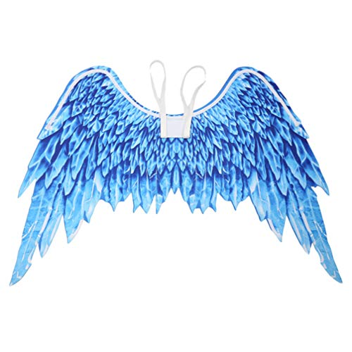 PRETYZOOM Ala de ngulo plegable Arcngel Cosplay Party Wings Halloween Carnaval Suministros