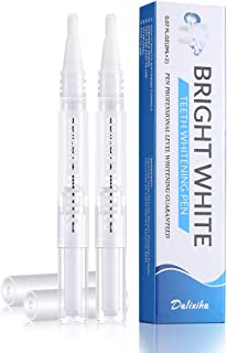 Teeth Whitening Pen, 35% Carbamide Peroxide, 15+ Whitening Treatments, No Sensitivity, 2mL (2 pack)