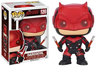Best Funko Pop Marvel: Daredevil TV-Daredevil Red Suit Action Figure,Multi-colored,3.75 inches Review