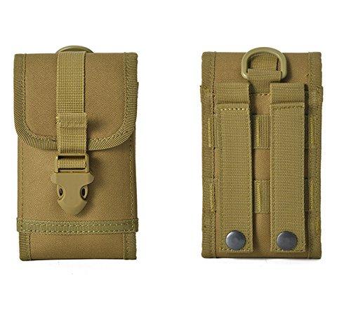 Funda universal para cinturón Doogee T6 Pro S60 S50 S60 Lite para deportes al aire libre, cintura de camuflaje militar, compatible con For Apple Magic Keyboard